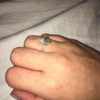 Pandora (7) Abstract Elegance ring