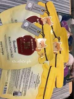 Papa Recipe Bombee Honey Mask Sheet
