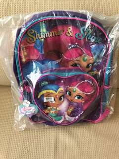 BN - Shimmer and Shine Backpack 16inches