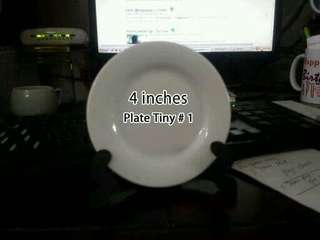 Personalize plate