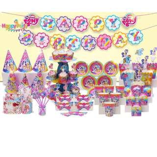 My Little Pony party set(Preorder)