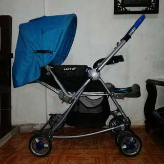 SOLD OUT Baby 1st Blue Baby Stroller