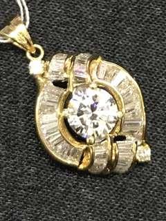 Diamonds Pendant 0.82cts
