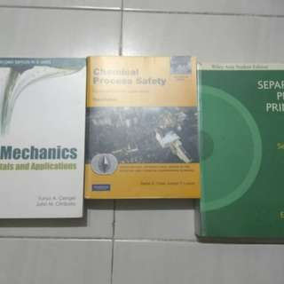 Chemical Engineering Books for Sale (1 lot)