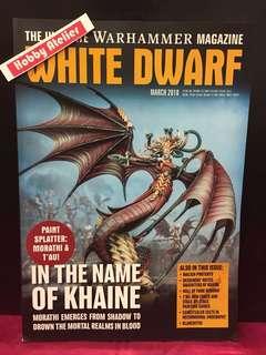 White Dwarf Magazine March 2018