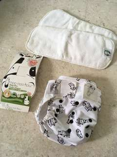 Moo Moo Kow Cloth Diaper