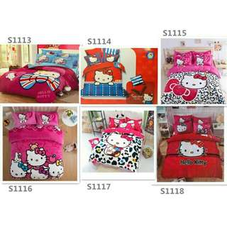 Bedsheets hello kitty