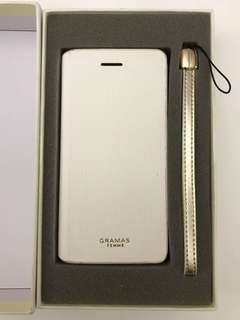 GRAMAS flap leather case iPhone 7/7S/8