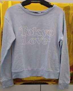 Powder Blue Light Sweater