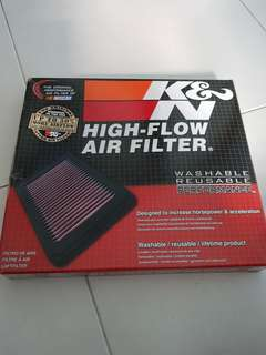 K & N air filters for toyota mark x and some lexus model