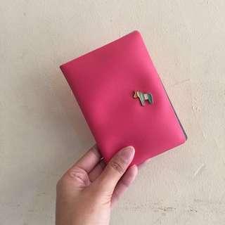 Passport Case Pink