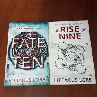 Pittacus Lore Books