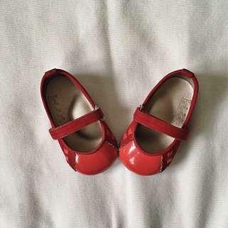 Rustan's Kiddos Red Ballet Flats