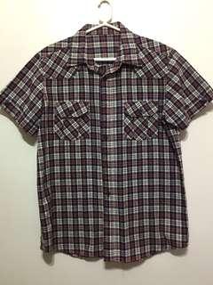 Men's Checkered Polo