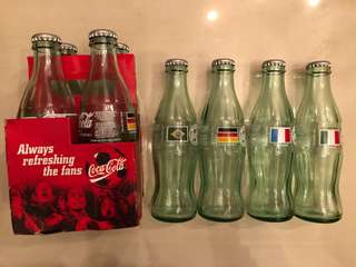 Glass Coke Bottles (Mexico)
