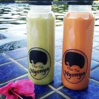 """""""Nyonya"""" Thai Milk Original & Green Tea (Teh Thailand)"""