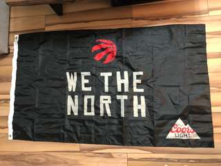 Massive WE THE NORTH Toronto Raptors Flag