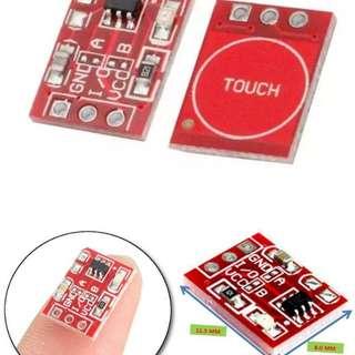 電容式觸摸開關 DIY改裝 觸摸按鍵模塊 自鎖 點動 單路改造 STEM 教育