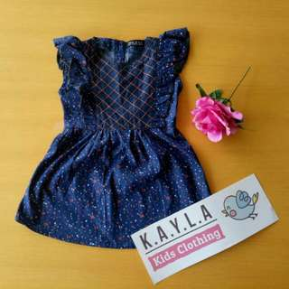 Girl denim dress