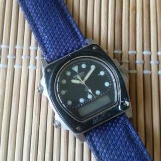70年代SEIKO馬蹄型電子錶