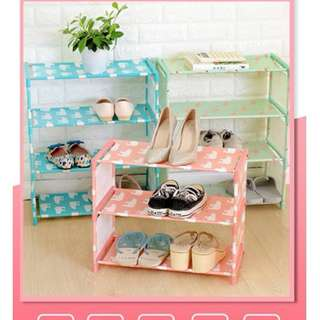 Dust Cloth Shoes Simple Shoe Rack Assembly Multi-Storey