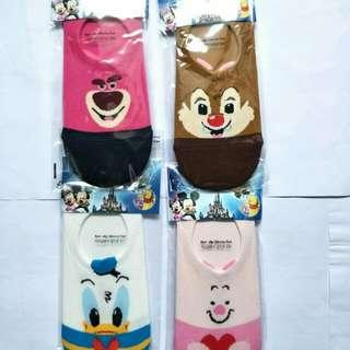 🚚 韓國正版迪士尼船型襪