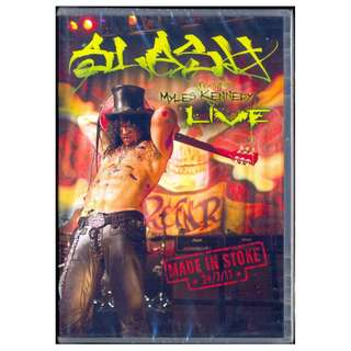 Slash - Live Made In Stoke - New DVD