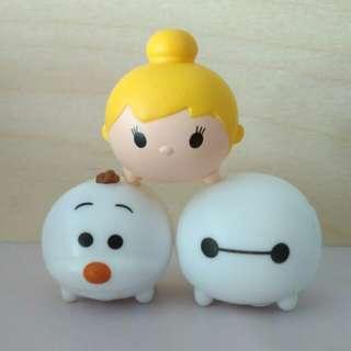 (inc nm) Zaini tsum tsum chocolate surprise egg toy