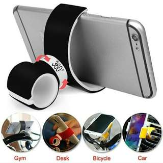 360 degrees universal air vent mount bicycle car phone holder stand