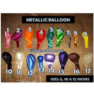 25pcs Metallic 12inches Balloon