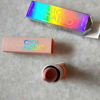 Maybelline X GIGI HADID MATTE LIPSTICK MC CALL EAST COAST GLAM MAKEUP