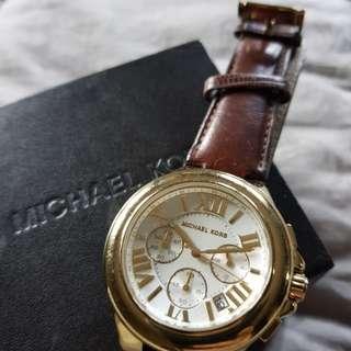 Michael Kors leather gold