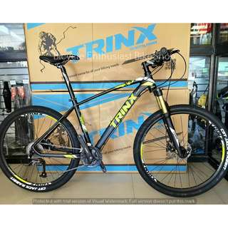 Trinx X1 Ultralight Mountain Bike MTB Bicycle 26 Hydraulic Alloy *Shimano Altus Edition* Buy only at Bicycle Enthusiast BikeShop!