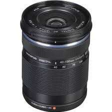Olympus M.Zuiko Digital ED 40-150mm f/4-5.6 R Lens (Black)