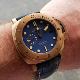 Rolex and panerai watches