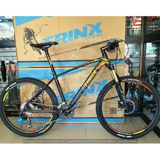 Trinx X7 Ultralight Mountain Bike Bicycle MTB *Shimano Deore Edition* Alloy Hydraulic *Buy only at Bicycle Enthusiast BikeShop of Ampid 1, San Mateo Rizal*