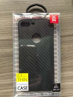 IPHONE 7 & 8 plus carbon fiber casing . 0.3mm thin