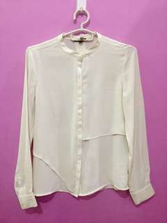 Mexx Business Casual Top in Cream