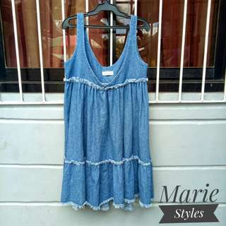 Denim dress/Denim skirt