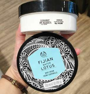 Body butter fujian wate lotus