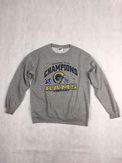 USA vintage-美國古著 2000年聖路易公羊隊超級杯冠軍盃足球T