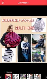 Carseat cover/ nursing cover