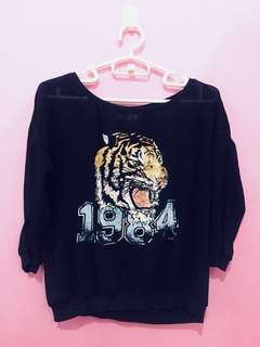 Bershka Black Casual Top