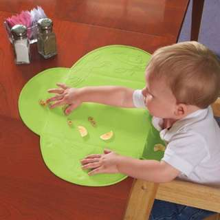 Summer Infant Tiny Diner Portable Placemat Green