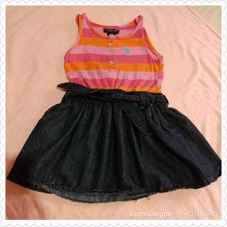 US Polo Assn. Dress (2T)