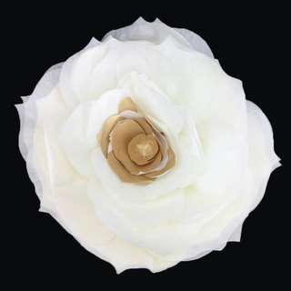 Big White Gold Paper Flower for SELL