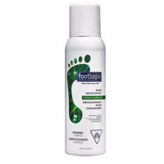 Footlogix - Shoe Deodorant Spray 125ml - WAREHOUSE PRICE- NEW
