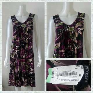 Plus Size Nic&Dom Abstract Flowy Dress