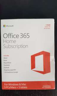 MS Office 365 Subscription