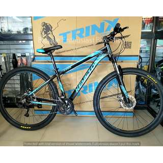 2018 Trinx Xtreme 29 Mountain Bike Bicycle MTB Alloy Mechanical *Powered by Trinx * Sold only at Bicycle Enthusiast BikeShop of Ampid 1, San Mateo Rizal *